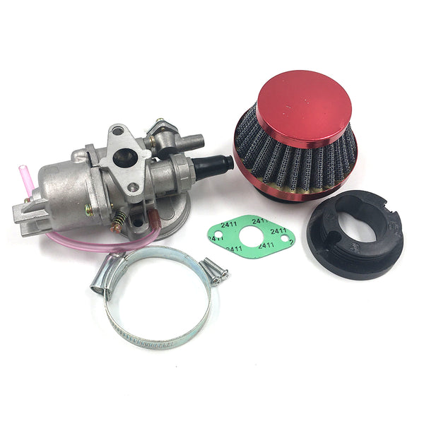 Carburetor Air Filter Assembly 47 49cc Pocket Pit Bike Mini Moto ATV Performance