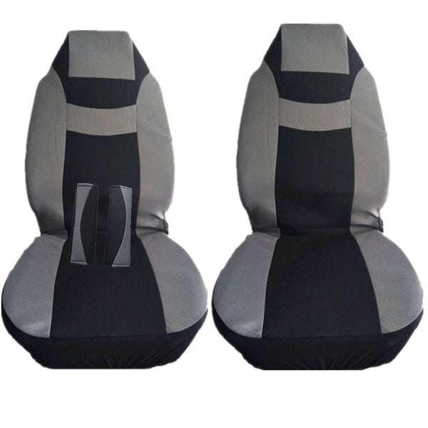 9pcs Universal Car Seat Covers Front Rear Back Head Rest Full Set Protector