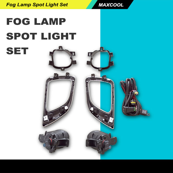 FITS 2014-2016 Nissan Navara Np300 Pick-Up 2Wd 4Wd Fog Lamp Spot Light Set Ute