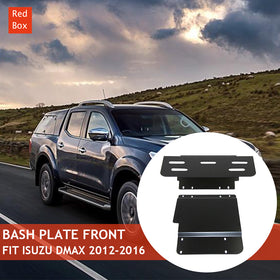 4mm 2pc Bash Plate Fits Nissan Navara NP300 Underbody Protection BRAND NEW