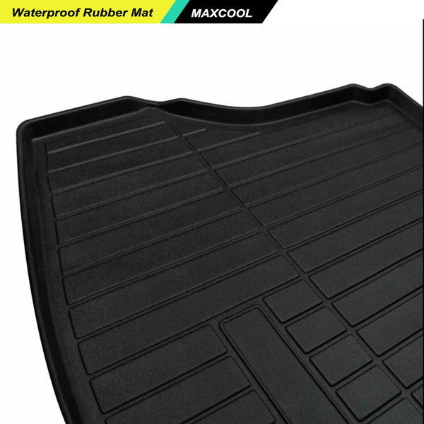 Heavy Duty Cargo Rubber Waterproof Mat Boot Liner Nissan X-trail Xtrail 2013-17