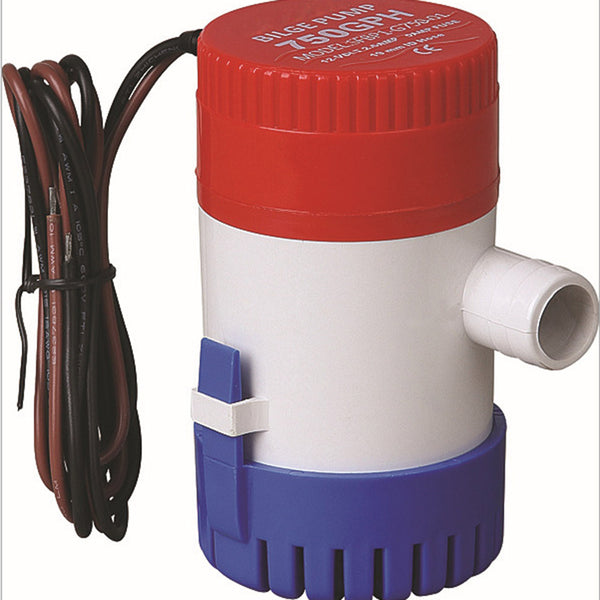 FITS 350GPH 12V Caravan Camping Marine Submersible Bilge Water Pump Fishing Boat