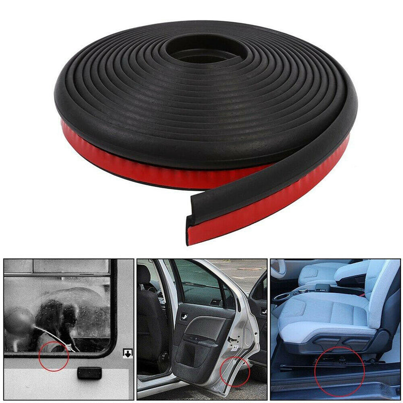 FITS 4M Z-shape Car Door Trunk Rubber Seal Strip Wheatherstrip Sealing Hollow 21mm