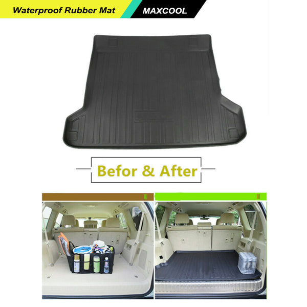 Cargo Rubber Waterproof Mat Boot Liner for TOYOTA PRADO 150 Series 2009-2019