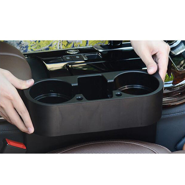 Fit Car Cleanse Seat Drink Cup Holder Valet Travel Coffee Bottle Table Stand Food