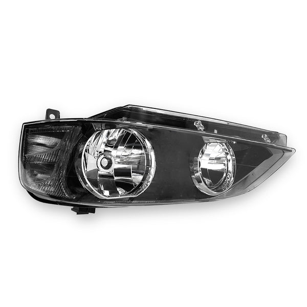 Fits Left Head Light Lamp Black For Ford Falcon BA BF Series 1 XT 02~06 TYC