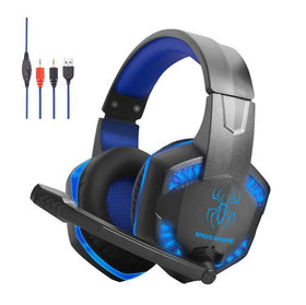 Fits Gaming Headset For PC Laptop Wired Headset Phone Gaming Headset