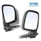Fits Left And Right Electric Door Mirror (Chrome) For Holden Rodeo RA 2003~2008 1 Pair