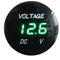 FIT Car Motorcycle Volt Gauge Meter LED Panel Voltmeter Display DC 12V-24 Waterp
