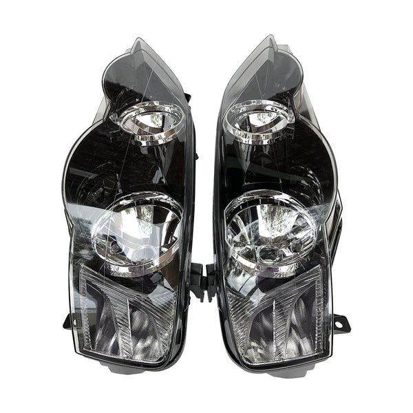 Fits Set Pair LH+RH Head Light Lamp For Ford BA BF Falcon XR6 XR8 FPV GT Typhoon TYC