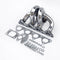 TURBO EXHAUST MANIFOLD Stainless T3 T4 Fits HONDA CIVIC D16 D15 D SERIES DOHC