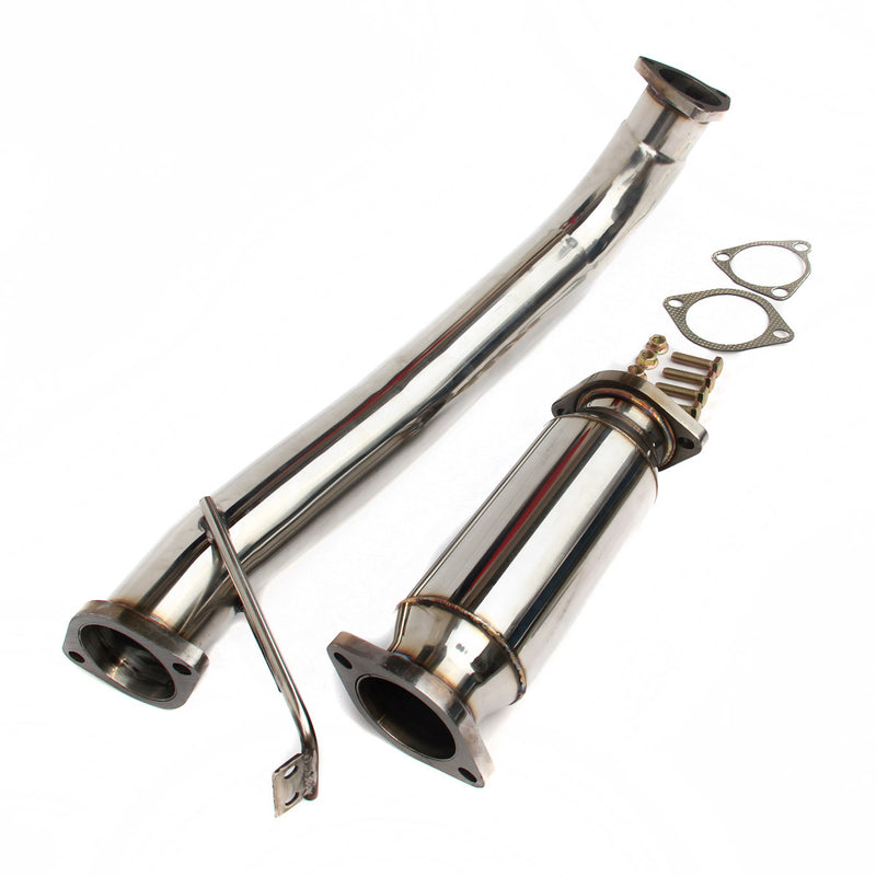 NISSAN 200SX S14 S15 SR20DET STAINLESS STEEL EXHAUST 95-99 DECAT & DOWNPIPE SET