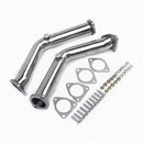 EXHAUST DECAT PIPE DE-SILENCED FIT FOR NISSAN 350Z Z33 3.5L