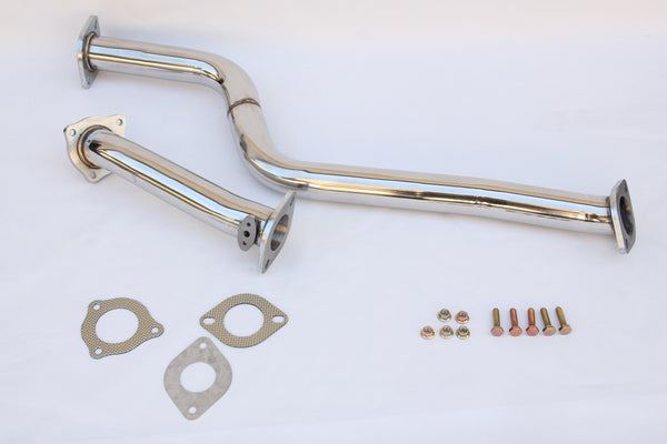 "2.5"" TOYOTA SUPRA MK4 JZA80 STAINLESS STEEL EXHAUST DOWNPIPE & DECAT PIPE TURBO"
