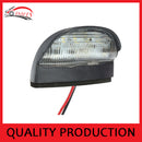 2 x LED TRAILER LIGHT LAMPS+PLATE LIGHT KIT SUBMERSIBLE NUMBER PLATE LIGHT BOAT