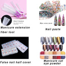 5 Pcs Care Acrylic Powder UV Gel Manicure DIY Make up Series
