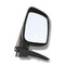 Fits Door Mirror Black Manual Left Hand Side for Ute Rodeo Colorado