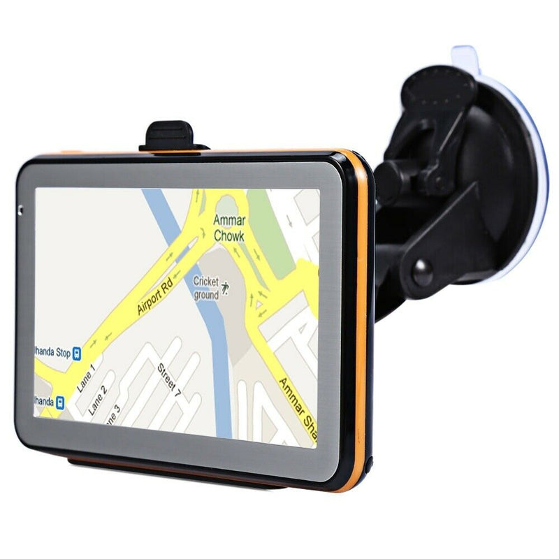 5 inch Vehicle GPS Navigation TFT LCD Touch Screen Voice Guidance Maps