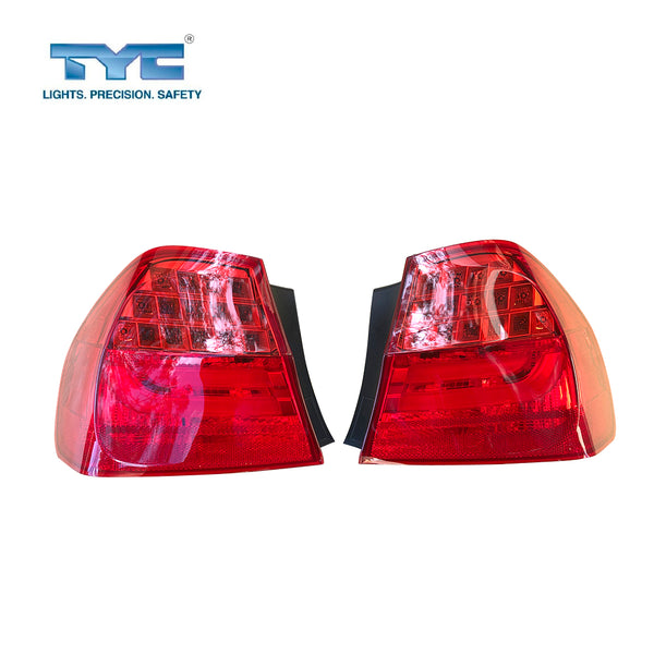 Fits Pair LH & RH Hand Tail Light Lamp LED For BMW 3 Series E90 Sedan Series 2 08~12