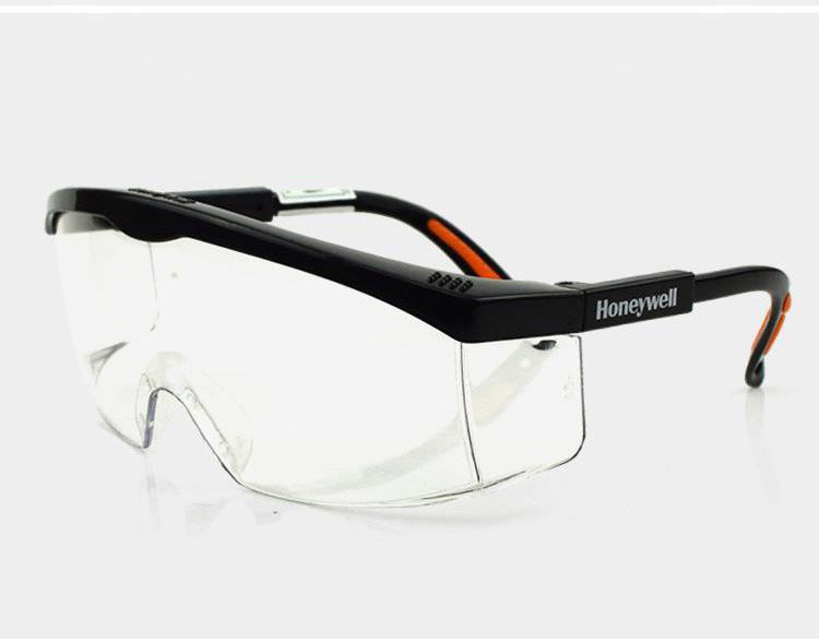 Scratch Resistant Safety Glasses Clear Lens UV Shield Working Goggle