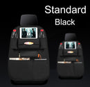 2PCS Car Back Seat Organiser Travel Storage Bag Organizer Pocket Holder Black