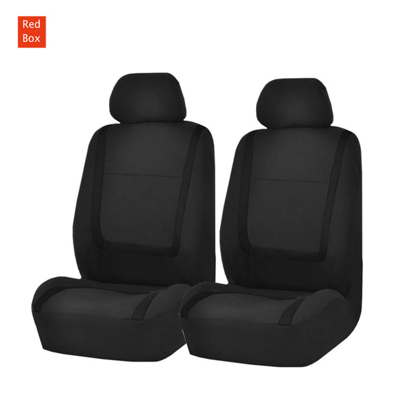 Universal Car Seat Covers Fit Front Pair Wet dust-proof Black