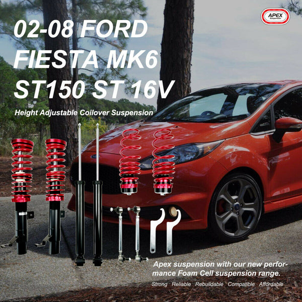 Coilover Suspension Kit For Ford Fiesta Mk6 16v ST150 ST 2002 - 2008