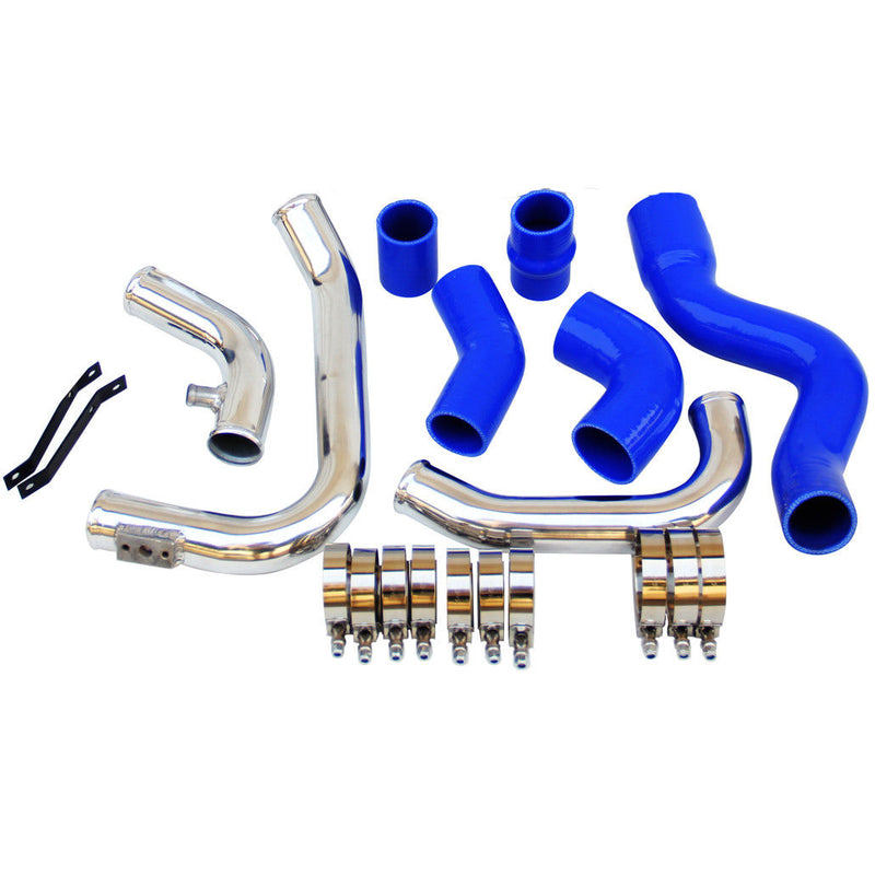 Front Mount Intercooler Piping Fit for Audi A4 1.8T Turbo B6 Quattro 2002-2006