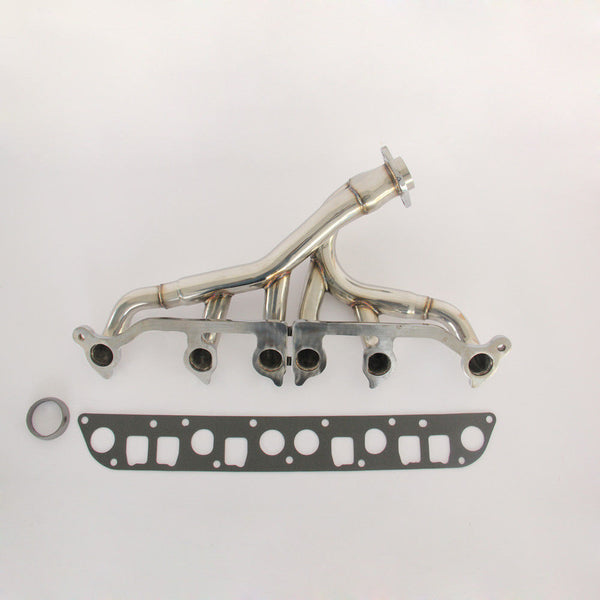 EXHAUST HEADERS Fits JEEP 91-98 WRANGLER YJ / GRAND CHEROKEE WJ 4.0L Upgraded