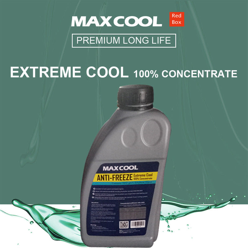 MAXCOOL long Life Antifreeze Free Engine/Radiator Coolant 1000ml