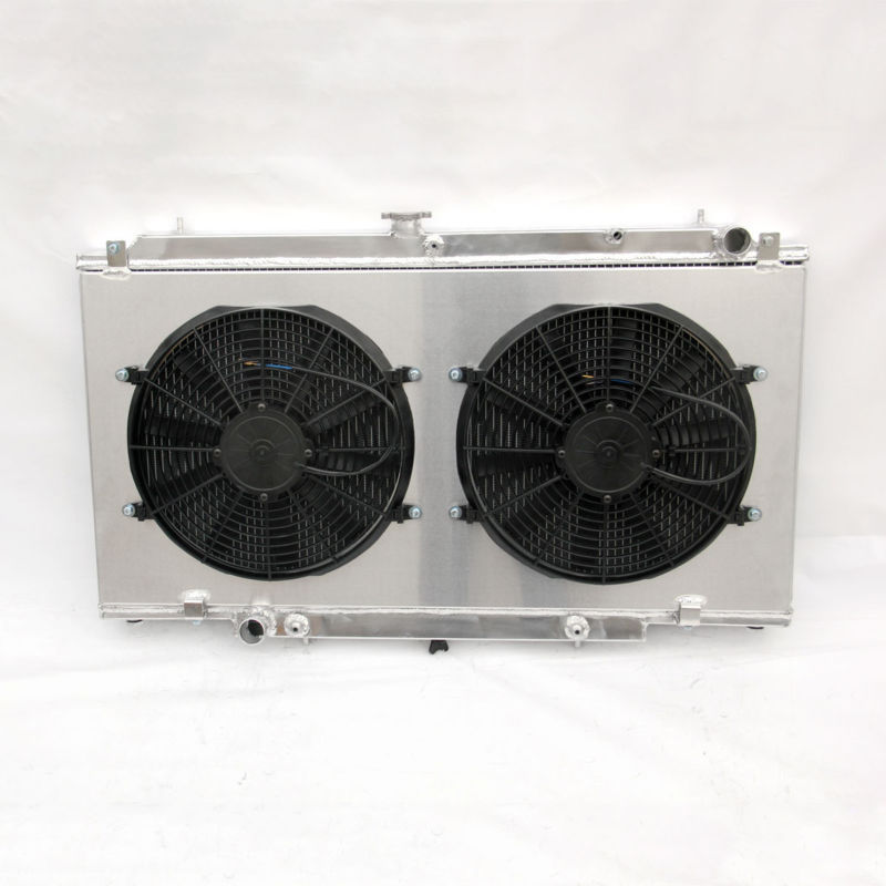 Nissan PATROL GU Y61 2.8/3.0/4.2L ZD30 RD28 AT/MT Radiator +Shroud Fan