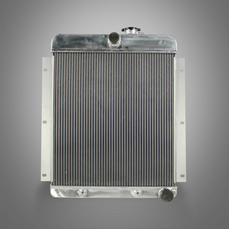 1947-54 CHEVY 3100/3600/3800 TRUCK PICKUP L6 3-ROW ALUMINUM RACING RADIATOR