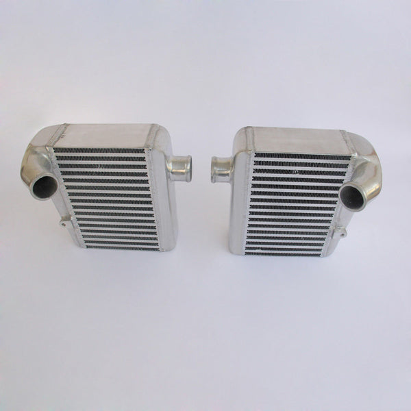 SIDE MOUNT BOLT ON Aluminum Intercooler FOR NISSAN 90-96 TWIN TURBO 300ZX Z32