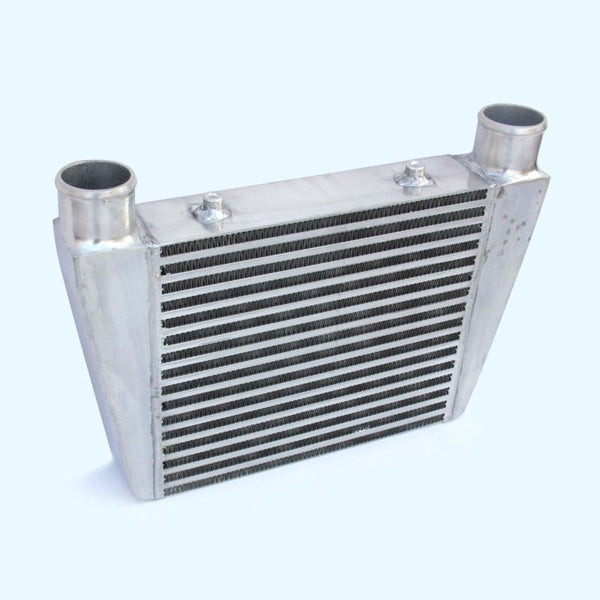 2.5 Universal Aluminum Front Mount Tube Turbo Intercooler 330X280X76 mm Core