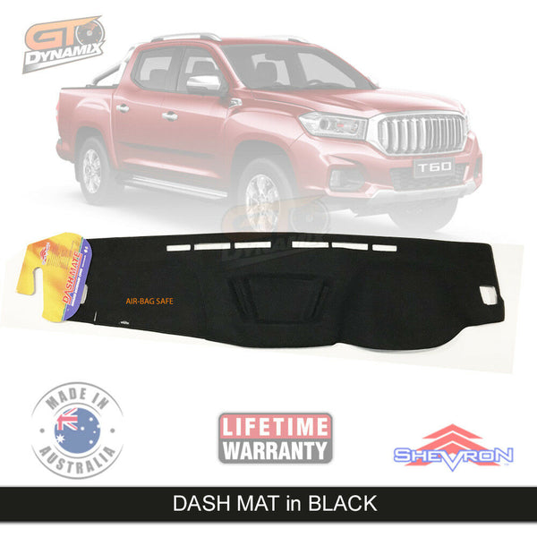 Dash mat fits for LDV T60 PRO LUXE SK8C Suits all models July/2017-2020 DM1493 Black
