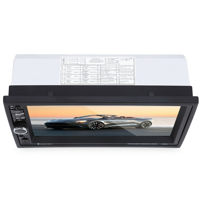 7020G 7 inch Car Audio Stereo Rearview Camera GPS Navigation Function