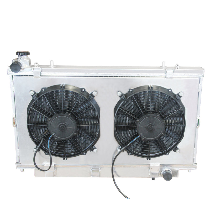 Aluminum Radiator+Fan Shroud for 2006-2013 HOLDEN COMMODORE VE 6.0 V8
