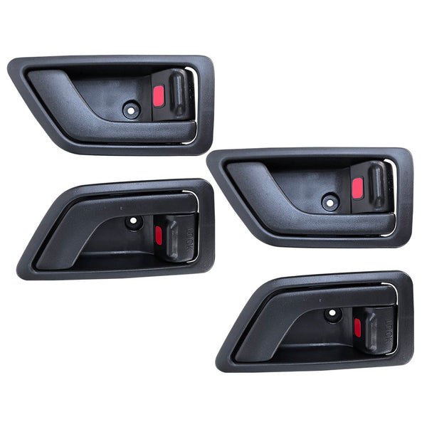 Fits Set 4pcs LH+RH Front or Rear INNER Door Handle for Hyundai Getz Hatch 02~11