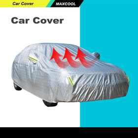 Full Car Cover 3x Layers Aluminum Waterproof Rain UV Resistant Protect YXL