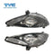 FITS Set / Pair LH+RH Head Light Lamp Black For Mazda 2 DE Neo Maxx Genki 2007~2014