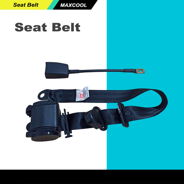1 Pair 3 Point Auto Car Seat Safety Belt Retractable Universal Adjustable Lap