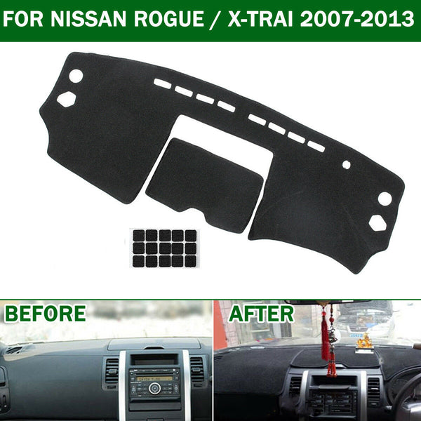 FITS Car Dashmat Dashboard Dash Mat Cover For Nissan X-Trail Xtrail T31 2007-2013