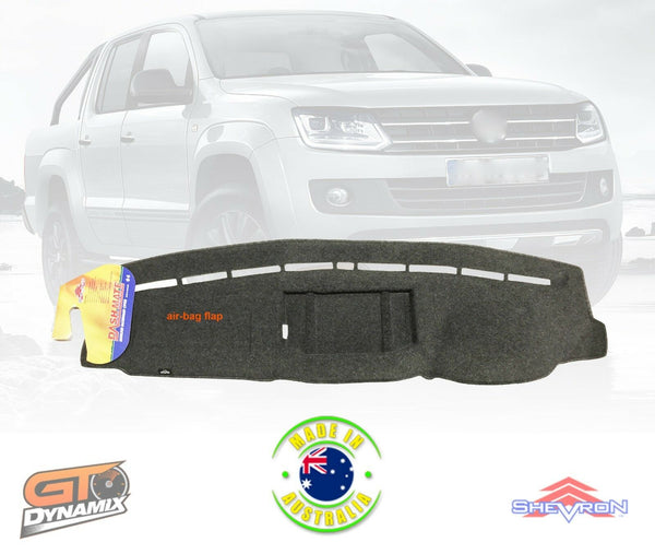 DASH MAT Fits Volkswagen Amarok 2H V6 Highline Ultimate Hero 9/2016-2019 DM1459 CHARC