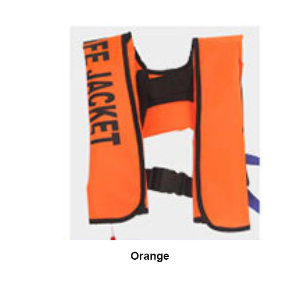Adult Automatic Inflatable Life Jacket Neckline Fishing Inflatable Life Jacket