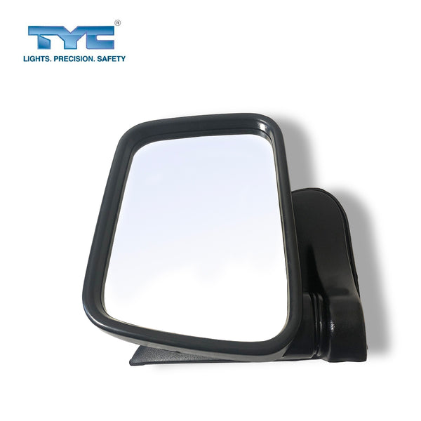 FITS RH Side Door Mirror Wing for Holden Rodeo Ute 97-03 Black Manual