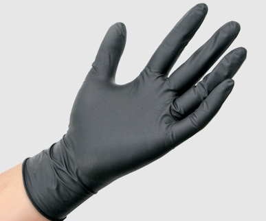 100PCS Disposable Mechanic Gloves Black Nitrile Gloves Tattoo Glove Silicone