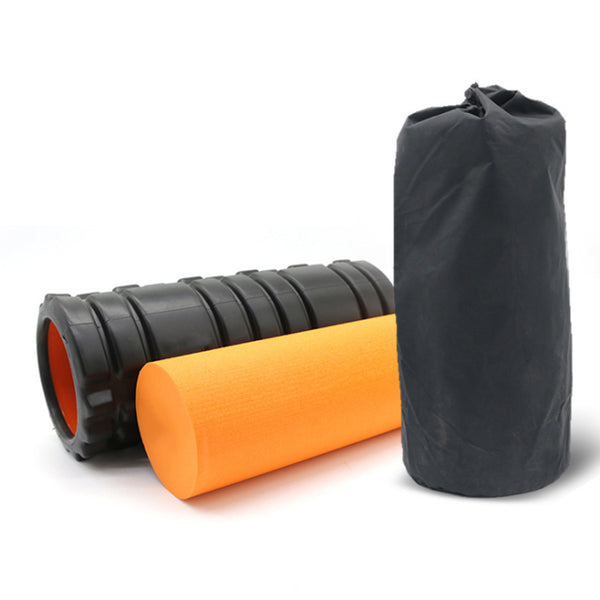 FITS 2 IN 1 EVA Foam Yoga Roller Gym Back Training Exercise Massage