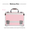Portable Cosmetics Beauty Case Makeup Case Carry Bag Organiser
