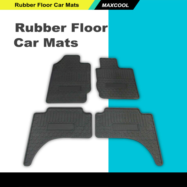 Rubber Floor Car Mats For Mitsubishi Triton ML MN 2006-2015