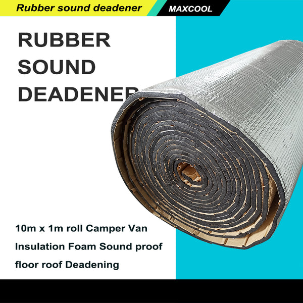 FITS 10m x 1m roll Camper Van Insulation Foam Sound proof floor roof Deadening